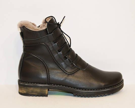 Женские кожаные зимние ботинки Phany 220, фото 2