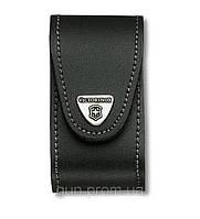 4.0521.31 Чехол для ножа Victorinox поясной черный кожанный с метал. клипсой