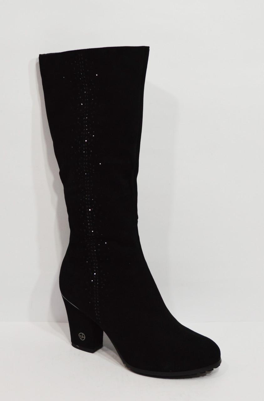 Женские черные сапоги Veritas 1569