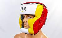 Боксерский шлем для спаррингов полная защита Everlast