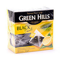 Чай Green Hills Black pearl 20 пак