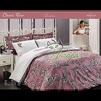 """Постельное белье сатин люкс Maison D`or """"Classic Rose"""" Kiremit"""