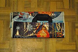 Пакет с петлевой ручкой Шары Зима 38*43 см