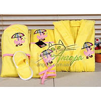 Подарочный набор для новорожденного (6-предметов) Turkiz (желтый)