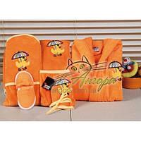 Подарочный набор для новорожденного (6-предметов) Turkiz (оранжевый)