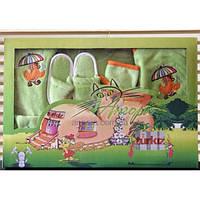 Подарочный набор для новорожденного (6-предметов) Turkiz (зеленый)
