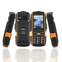 Смартфон NO.1 A9 black-orange IP67  , фото 1