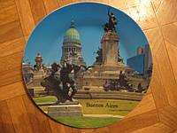 "Тарелка сувенир "" Буэнос Айрес ""-2"