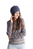 Красивая женская ажурная шапка