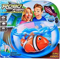 Роборыбка с Аквариумом  Zuru RoboFish
