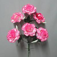 Роза флорибунда 6-ка (6 голов) букет искусственный