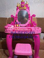 Детский макияжный столик с синтезатором и стульчиком 661-36, фото 1