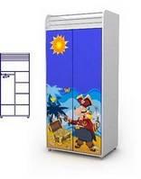 Шкаф двухдверный Оd-02-1 мебель детская.
