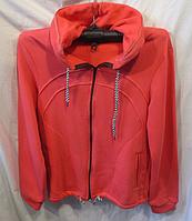 Женская зимняя мастерка на флисе ( 3 цвета; L-3XL р.; про-во Украина)