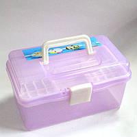 Контейнер-бокс пластиковый для мастеров маникюра маленький