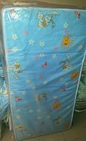 Матрас ГОЛУБОЙ для детской кроватки КПК-LUX кокос-поролон-кокос, 120х60 см. Толщина 7 см.