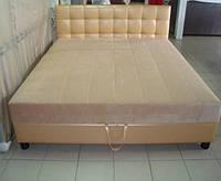 Кровать двуспальная «Эстель», с матрацем, (наличие склад)