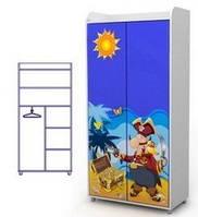 Шкаф двохдверный Оd-02-4 мебель детская.