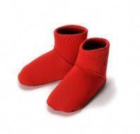 Детские неопреновые носки для бассейна и пляжа Konfidence Paddlers L / 12-24 мес. ТМ Konfidence красный NS06LC