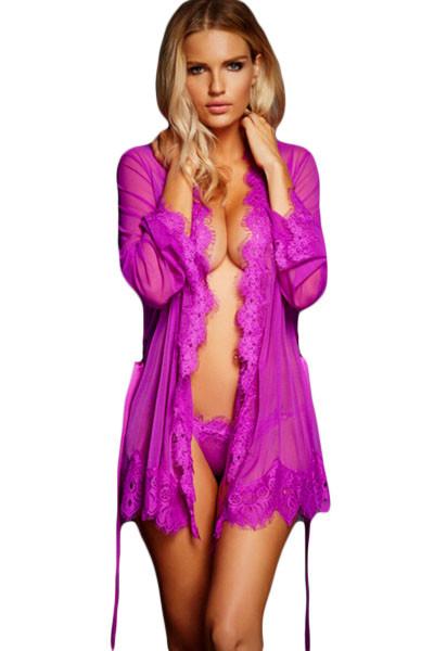 Халатик Сasuale фиолетовый