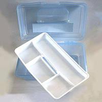 Контейнер-бокс пластиковый для мастеров маникюра средний