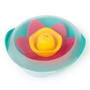"""Детский игровой плавающий цветок для ванны """"LILI"""" ТМ Quut Зеленый + розовый + желтый 170471"""