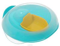"""Детский игровой кораблик для ванны и пляжа """"SLOOPI"""" ТМ Quut Зеленый + желтый 170457"""