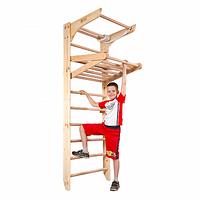 Детский спортивный уголок-трансформер от 2 лет ТМ SportBaby Шведская стенка Kinder 4-220