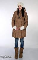Зимнее пальто для беременных Neva р. 44-52 (обычное пальто, пальто для беременных) ТМ Юла Мама OW-15.063