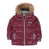 Зимняя куртка-пуховик POLYFILL для мальчика 2,12 лет ТМ Deux par Deux P 519-761