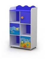 Книжный шкаф Оd-04-2 мебель детская.