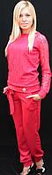 Брючный костюм женский коралл, фото 1