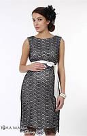 Платье нарядное для беременных Bohemia р. 44, 46 ТМ Юла Мама ED-1.4.2