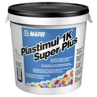 PLASTIMUL 1K Super Plus MAPEI однокомпонентная эластичная битумно полимерная гидроизоляция