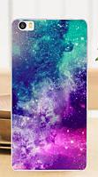 Чехол накладка силиконовая для Xiaomi Mi5 с картинкой Звёздное небо