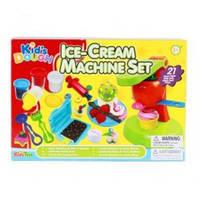 "Набор для детского творчества пластилин с отпечатками и аксессуарами ""Ice-Cream Machine Set"" Kid`s Dough"
