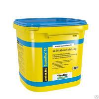 WEBER TEC 915 2K (30кг) - 2х компонентная битумная полимерная гидроизоляция для защиты фундаментов и террас