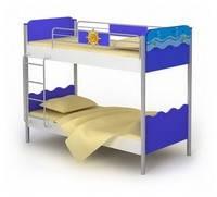 Двухярусная кровать Od-12 мебель детская.