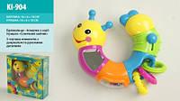 Развивающая игрушка Веселая гусеница KI-904