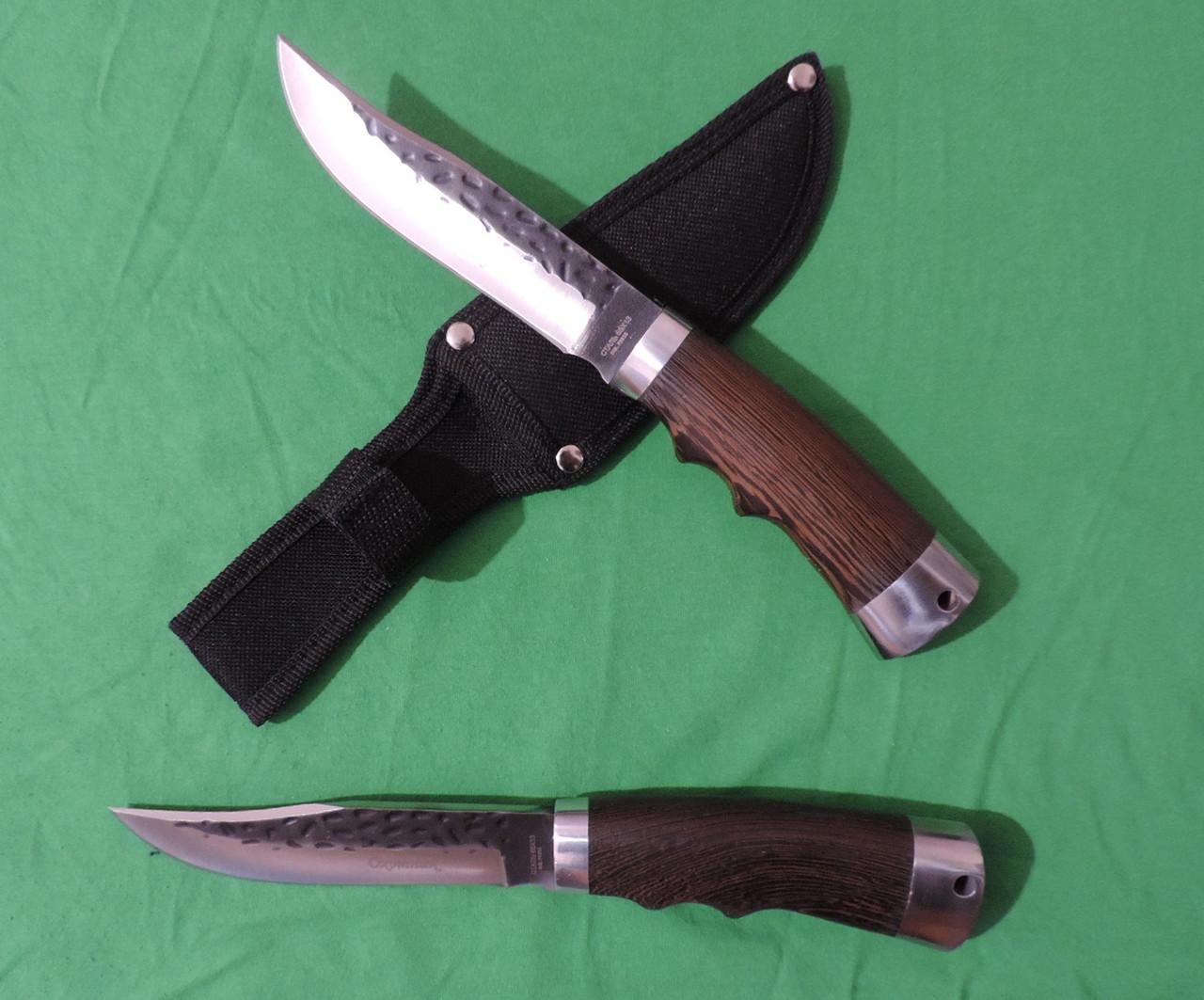 """Нож охотничий кованный """"Пантера"""", нож туристический. Производство Россия, Ворсма."""
