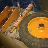 Вилка с колесом К-96 опорным усиленным , фото 1