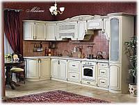 Кухня угловая Мадлен крем