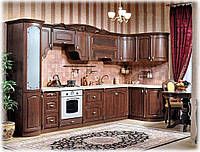 Кухня угловая Мадлен орех караваджо