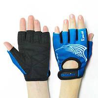 Перчатки фитнес тренировочные Stein Blue S женские
