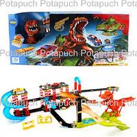 Детский автотрек с запуском Динозавр 8899-92