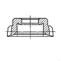 Долбяк модульный чашечный М5/2,5 Z=20 α=30˚ P6М5 Dd 100