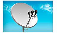 Настройка спутниковой антенны на 3 спутника