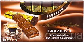 Шоколад молочный Maitre Truffout GRAZIOSO Эспрессо Австрия 100г
