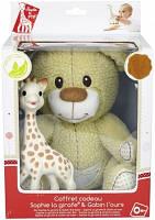 """Подарочный набор - игрушки Vulli """"Мишка Габби и жирафка Софи"""""""