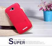 Чехол бампер и пленка Nillkin Super Frosted Shield для телефона смартфона Lenovo A706 красный red